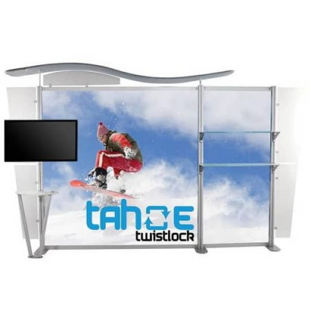 13ft Trade Show TV Backwall