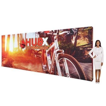 20ft Fabric Pop Up Display - Straight