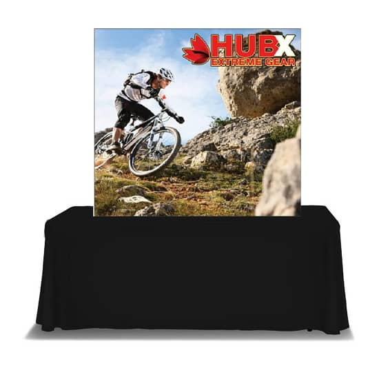 5′ x 5′ Fabric Pop Up Tabletop Display