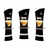 Angled Freestanding 3D Banner Stands