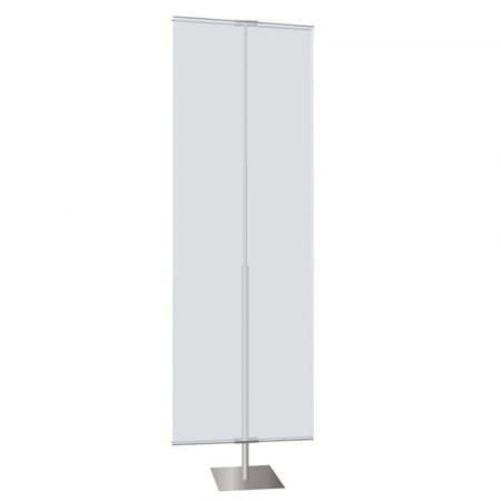 Medium Silver Square Stand