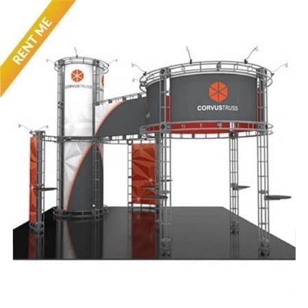 20'x 20' Orbital Truss Rental - Corvus