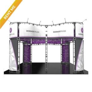 20'x 20' Orbital Truss Rental - Dorado