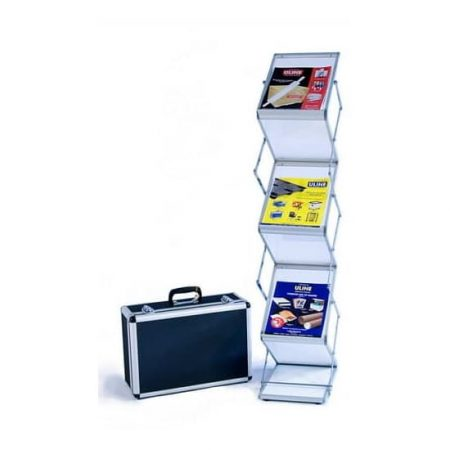 Literature RAcks Aluminum