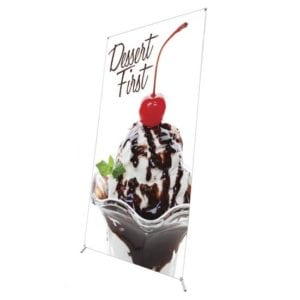 Grasshopper Large Banner Stands