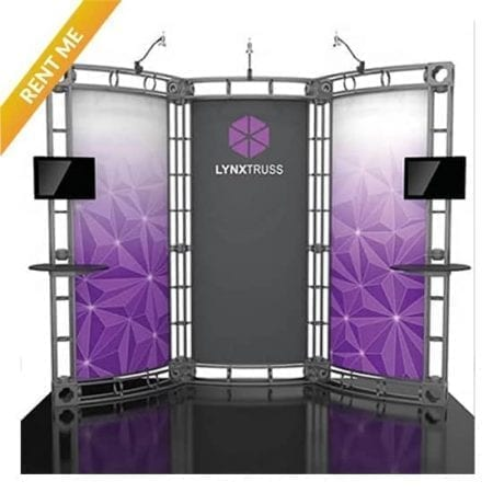 10' x 10' Orbital Truss Rental - Lynx