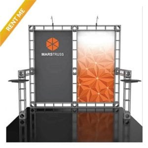 10' x 10' Orbital Truss Rental - Mars