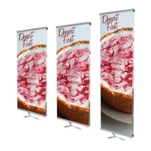 Ninja Star Indoor Banner Stand
