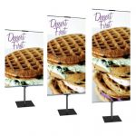 Promo-2-Sided Banner Stands