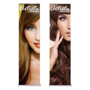 "24"" Silverstep Pop Up Banner"