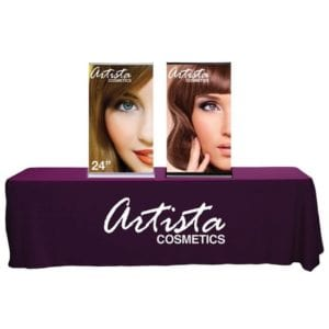 "24"" Silverstep Tabletop Pop Up Banners"