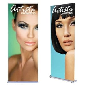"36"" Silverstep Pop Up Banner"