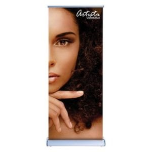 1-Sided Silverwing Pop Up Banner