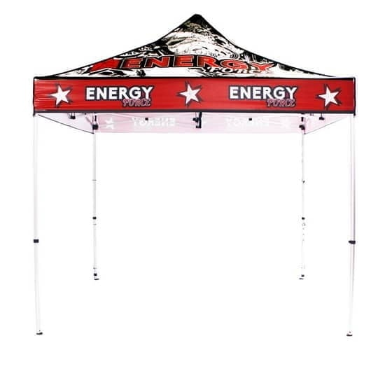 10ft Aluminum Full Color Print Trade Show Tent