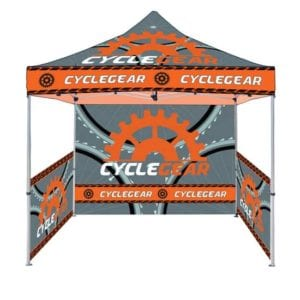 10' x 10' Custom Full Color Printed Canopy