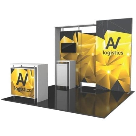 10' x 10' Hybrid Pro Booth 03