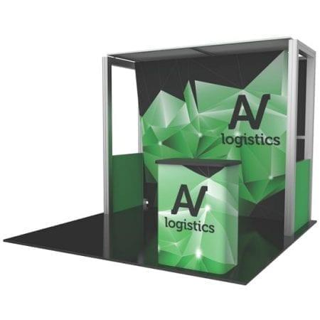 10' x 10' Hybrid Pro Booth 04
