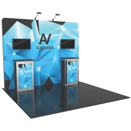 10' x 10' Hybrid Pro Booth 06