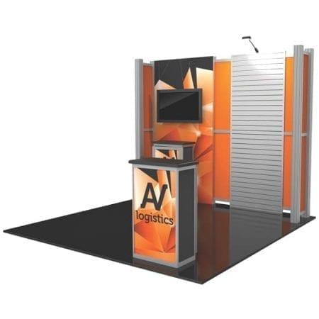 10' x 10' Hybrid Pro Booth 08