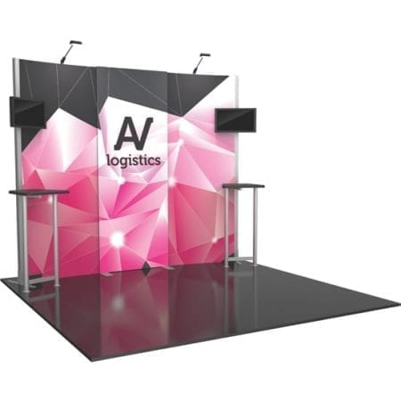 10' x 10' Hybrid Pro Booth 01