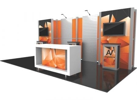 10' x 20' Hybrid Pro Booth 16