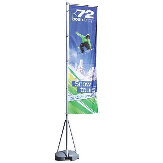 13ft Giant Outdoor Flying Banner – 1-Sided