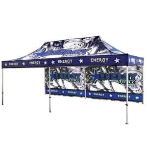 20' Full Color Printed Canopy