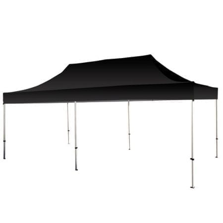 20 Solid Color Canopy - Black