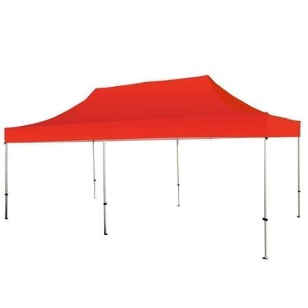 20 Solid Color Canopy - Red