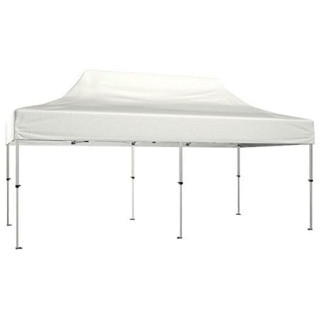 20 Solid Color Canopy - White