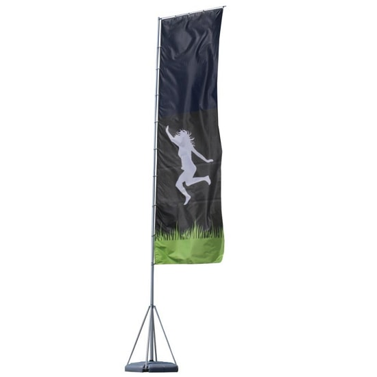 23ft Giant Outdoor Flying Banner – 1-Sided