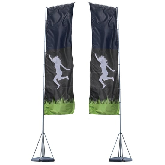 23ft Giant Outdoor Flying Banner – 2-Sided