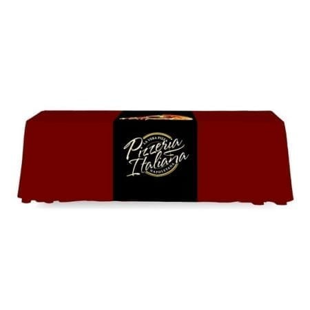 Trade Show Table Covers - Standard Custom Runner