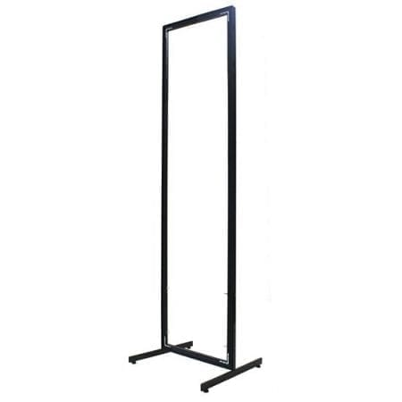 2' T-Leg Floor Stand Display Frame