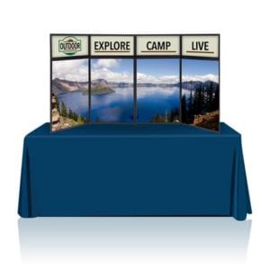 8ft Tabletop Panel Display Full Graphics