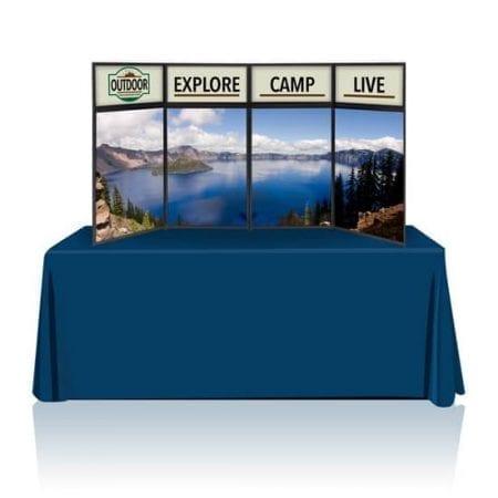 8ft Tabletop Panel Display Full Graphics