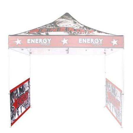 10'x10' Trade show tent Half Walls