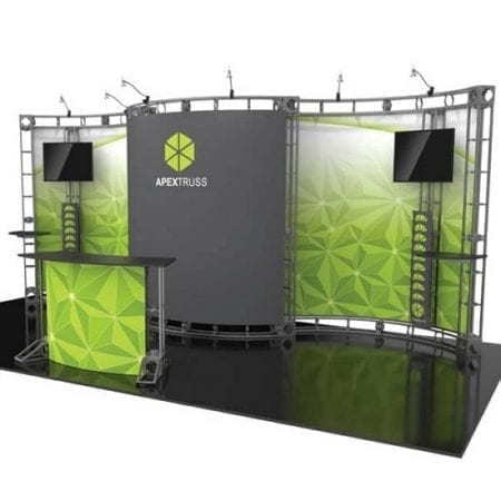 10' x 20' Orbital Truss Display - Apex