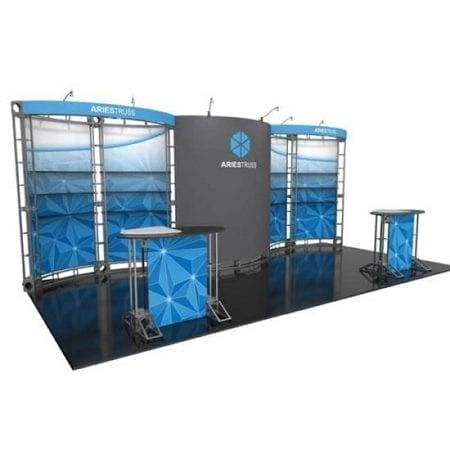 10' x 20' Orbital Truss Display - Aries