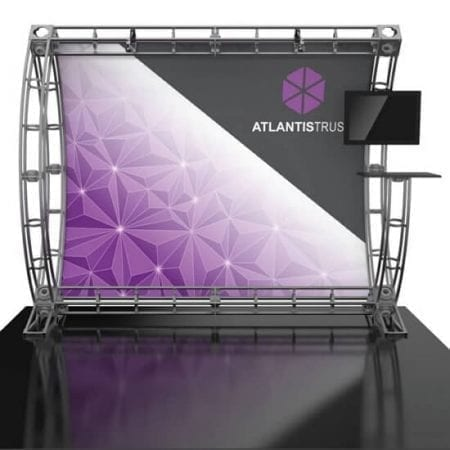 10' x 10' Truss Display - Atlanits