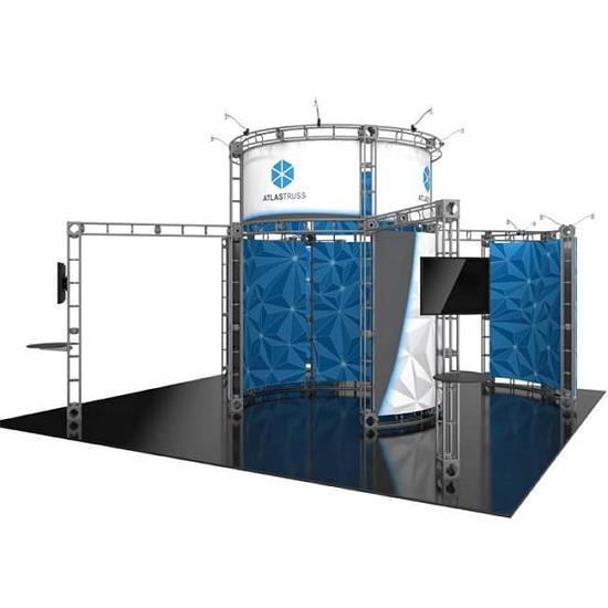 Warehouse Trade Show Booth : Truss display atlas philadelphia