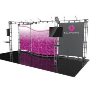 10' x 20' Orbital Truss Display - Callisto