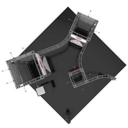 10' x 20' Orbital Truss Display - Calypso