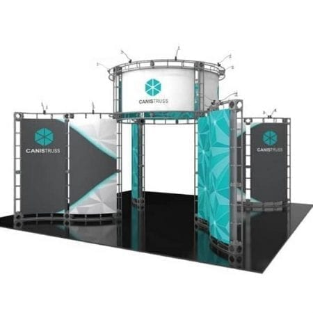 20' x 20' Orbital Truss Display - Canis