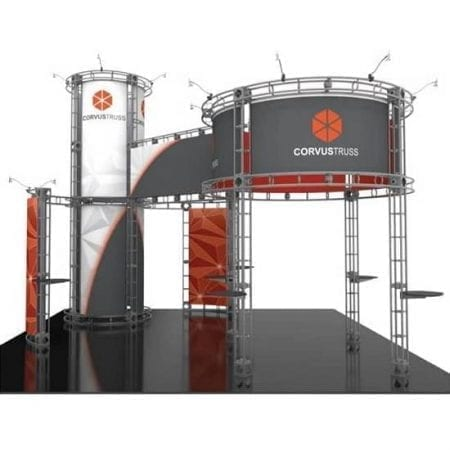 20' x 20' Orbital Truss Display - Corvus