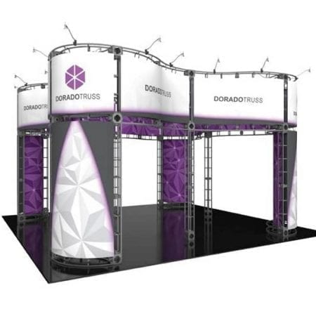 20' x 20' Orbital Truss Display - Dorado