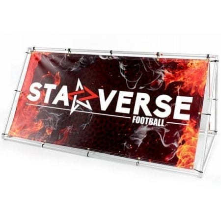 Outdoor Displays Foundation Banner Stand