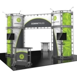 20' x 20' Orbital Truss Display - Gemini