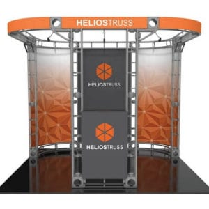 10' x 10' Truss Display - Helios