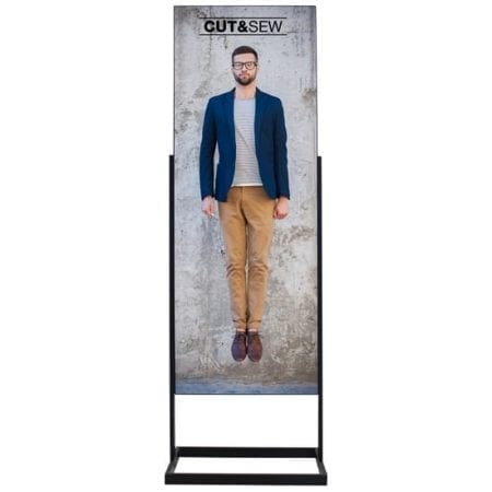 2ft Floor Stand Displays Onyx IS2